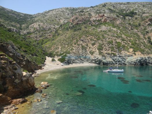 The island of Kyra Panagia is sometimes also called Pelagos or Pelagonisos.